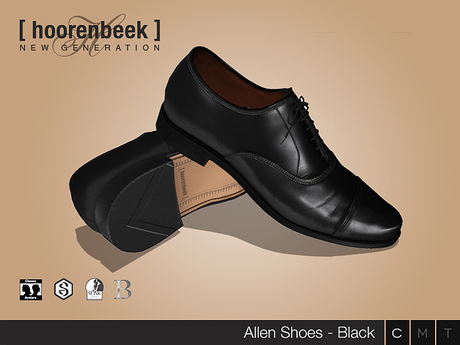 Dress Shoes - Allen - Black - Signature Gianni & Geralt, Belleza, SLink & CA
