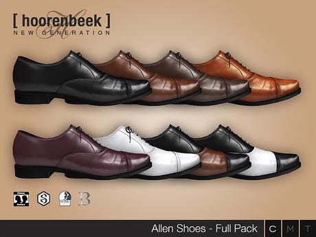 Dress Shoes - Allen - Full Pack - Signature Gianni & Geralt, Belleza, SLink & CA