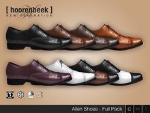 [ hoorenbeek ] Allen Shoes - FULL PACK - BOX [wear me]