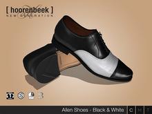 Dress Shoes - Allen - Black & White - Signature Gianni & Geralt, Belleza, SLink & CA