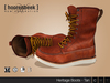 Leather Boots - Heritage - Tan - Signature Gianni & Geralt, Belleza, SLink & CA