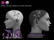 RSC STARS UNISEX SHAVED HAIR BASE CATWA AND OMEGA APPLIERS