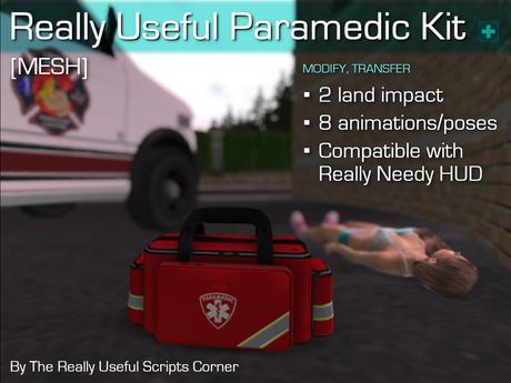 Really Useful Paramedic Kit [MESH]