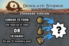 [DS] Item Combiner / Crafting Game - For Merchants, Creators, and Game Developers - Standard Edition