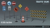 TRAFFIC SIGNS PACK (MESH MATERIALS) [NeurolaB Inc.]
