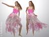 FaiRodis Summer butterfly dress pink for all avatars pack
