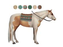 TeeglePet Bareback Blanket (Native American)