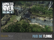Skye Animated River Building Set - Pack 1 : Flowing Water