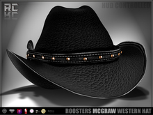 Roosters (McGraw) Western Hat