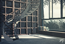 Soy. Building [Spiral staircase home] addme