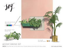 Soy. Accent Greens Set [addme]