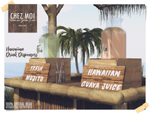 Hawaiian Drink Dispensers ♥ CHEZ MOI