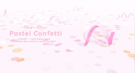 +Half-Deer+ Pastel Confetti [Set]