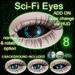 -bus- Sci-Fi Eyes **PACK 8** {Genus-Catwa-Mesh-Omega}