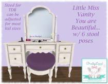 {BL} Little Miss Vanity