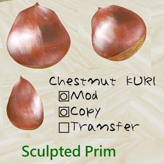Sculpted Chestnut