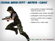 Colonial Marine Outfit – Maitreya and Classic Female