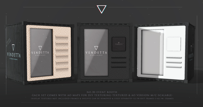 vendetta. event booth - no. 30