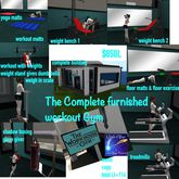 Complete Totally furnished workout GymCrate