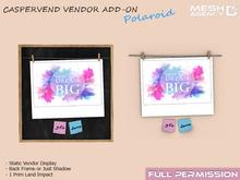 ::MA:: 3D - Static -  Polaroid Vendor
