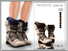 MIEL FAR BOOTS - polar