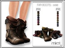 MIEL FAR BOOTS - solid