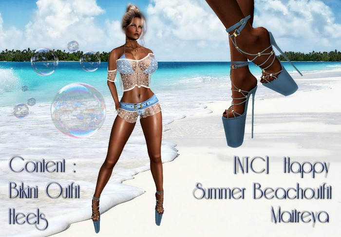 [NTC] Happy Beach Outfit Complete Maitreya [Promo]