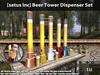 [satus Inc] Beer Tower Dispenser Set