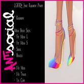 [AS] HUD [WEAR ME] Rainbow Pumps - LGBTQ+ JUNE