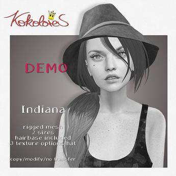 [KoKoLoReS] Hair - Indiana - DEMO - wear me!
