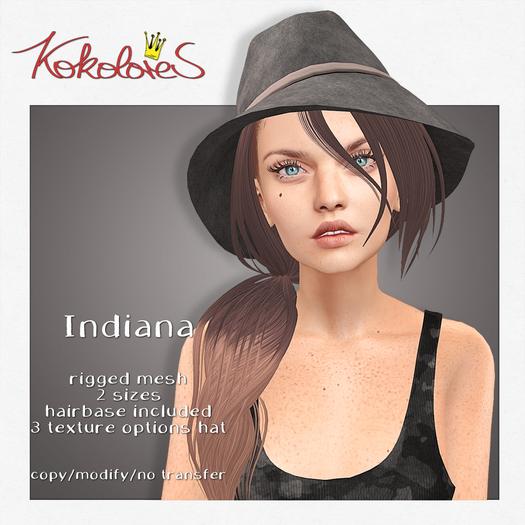 [KoKoLoReS] Hair - Indiana - Naturals