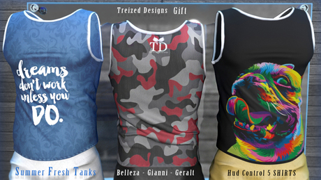TD Summer Fresh Men Tanks_Gift (Gianni-Belleza-Geralt)