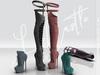 [LC] Jody Over Knee Boots / Maitreya / Slink / Belleza