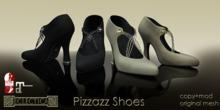 Eclectica Pizzazz Shoes- blacks