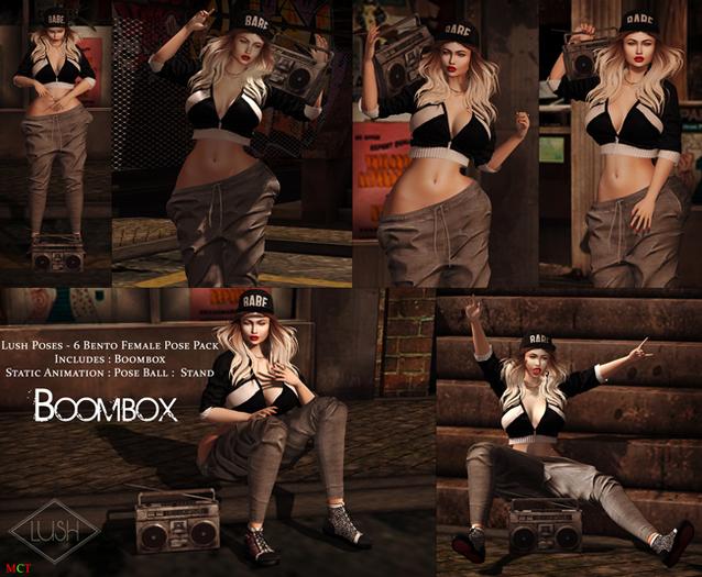 Lush Poses - BoomBox - Female Pose Pack