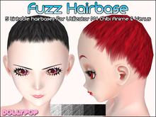 ~Dollypop~ Fuzz Hairbase for M4 Venus, Chibi, Anime