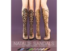 Natalie Sandals for Belleza Isis, Freya, Maitreya and Slink Hourglass