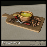 {RW} Cheese Fondue - Bread//Crackers Delivery HUD [ Add Me! ]