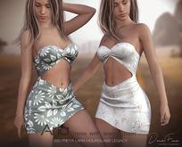 DarkFire-Aria Dress with waist Chain-FatPack