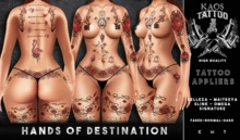 KAOS HANDS OF THE DESTINATION TATTOO
