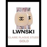 LWNSKI - Claire Plaque - Gold