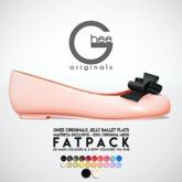 Ghee Originals Jelly Ballet Flats (Maitreya)  FATPACK