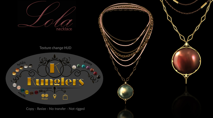 KUNGLERS - Lola necklace