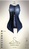 [sYs] ELEMIA dress (body mesh) - denim GIFT <3