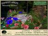 Woodsy Bliss 1 SWEET SPOT - Back Garden - Instant Garden Arrangement