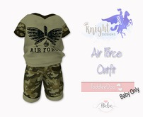 [KNIGHT DESIGNS] AIR FORCE OUTFIT - TD BABY AND BEBE