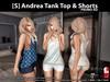 s  andrea tank top   shorts promo pic