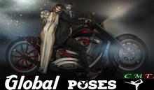 .:GB POSES 235:. Wedding Biker 01