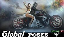.:GB POSES 236:. Wedding Biker 02