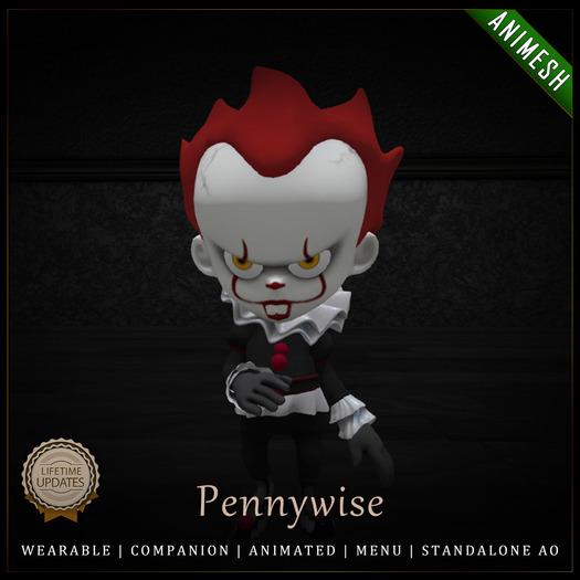[C] Animesh Follower - Pennywise (Wear)
